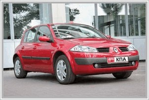 Продаю авто Renault Megane Estate 1.6 MT